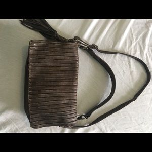 Handbags - Catering Lucchesi Brown Leather Purse